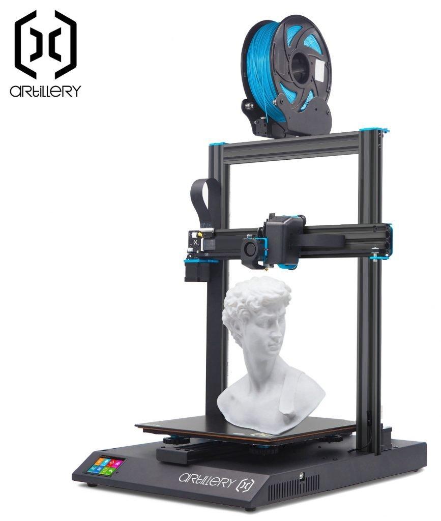 Artillery Sidewinder X1 V4 Best 3D Printer