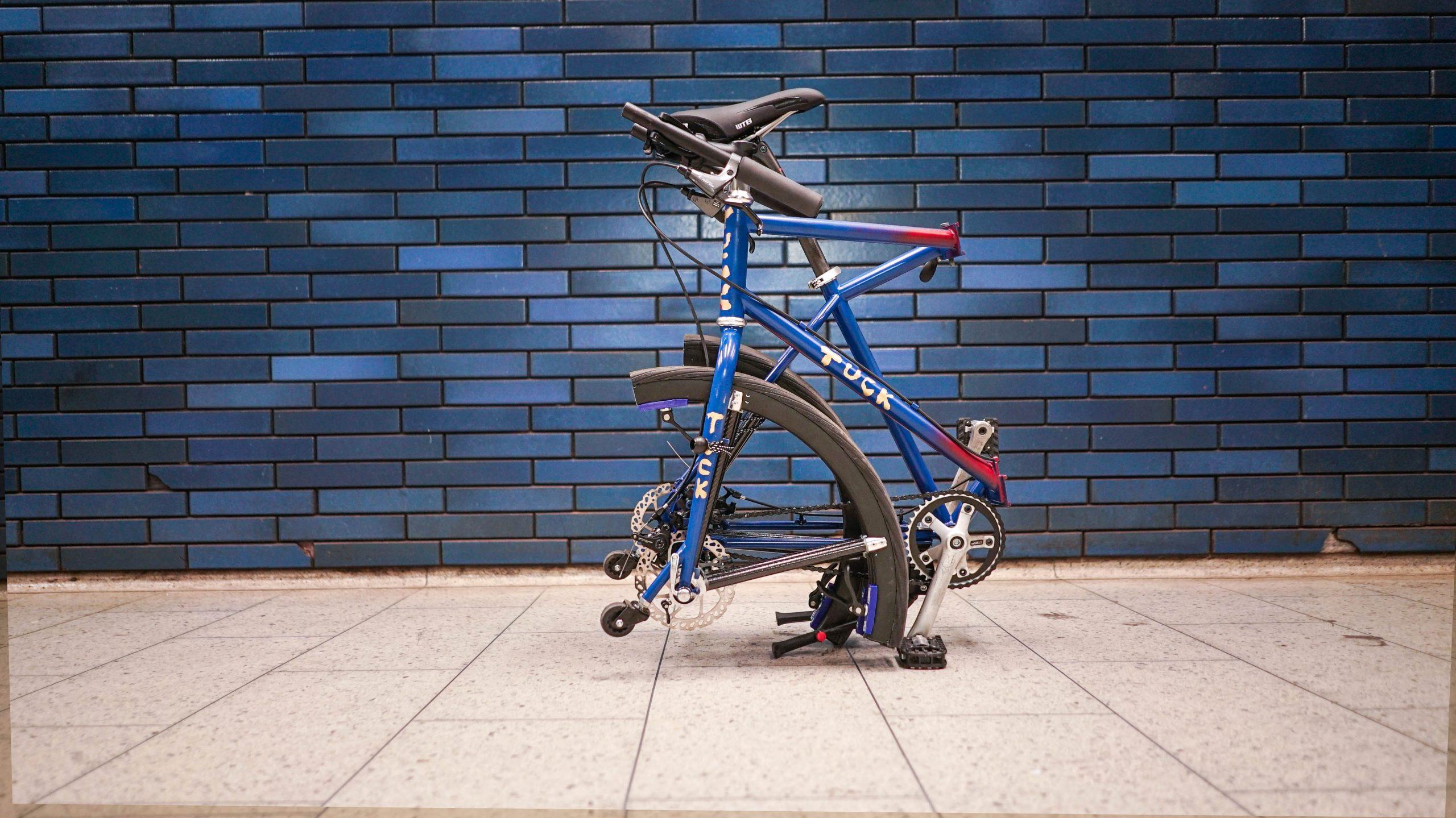 Folded Tuck Bike